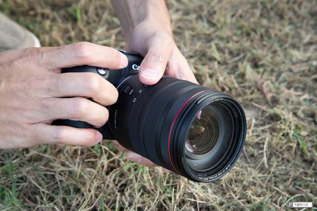 Canon EOS RP 使用心得 - 外觀