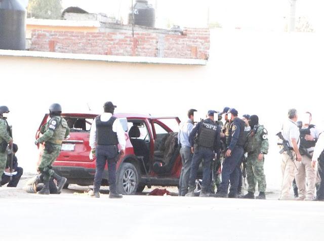 6 muertos y 5 Sicarios detenidos tras enfrentamientos en Irapuato; Guanajuato