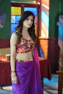 Actress Richa Panai Stills in Half Saree at Rakshaka Bhatudu Sets  0017.JPG