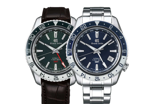 Grand Seiko Sport Collection GMT SBGJ237 and SBGJ239