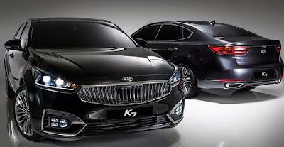 USA accoglie nuova Kia Cadenza 2017