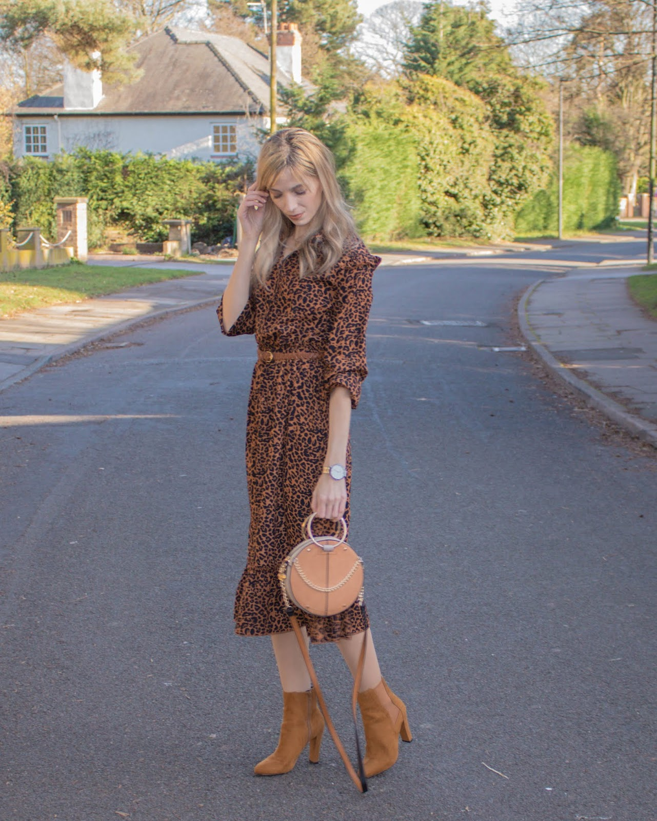 How To Style A Leopard Print Dress