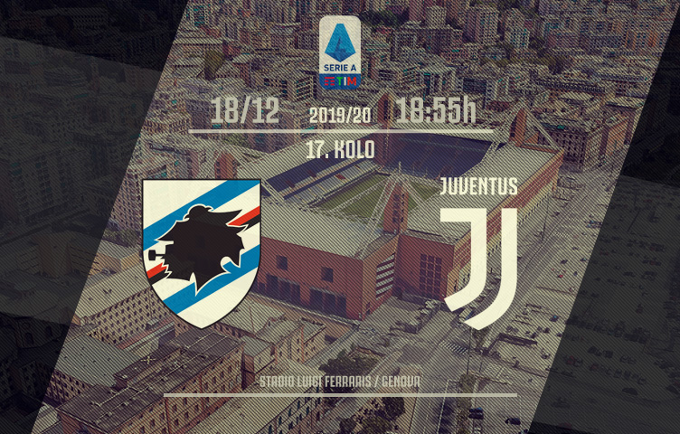 Serie A 2019/20 / 17. kolo / Sampdoria - Juventus, srijeda, 18:55h