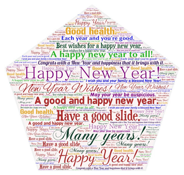 New year wishes from different cultures.
