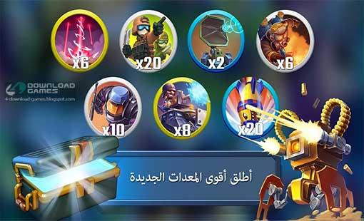 اسلحة ومعدات لعبة Blitz Brigade: Rival Tactics