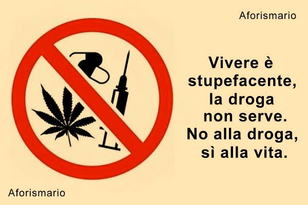 abbastanza Aforismario®: Droga e Tossicodipendenza - Aforismi stupefacenti e  CD78