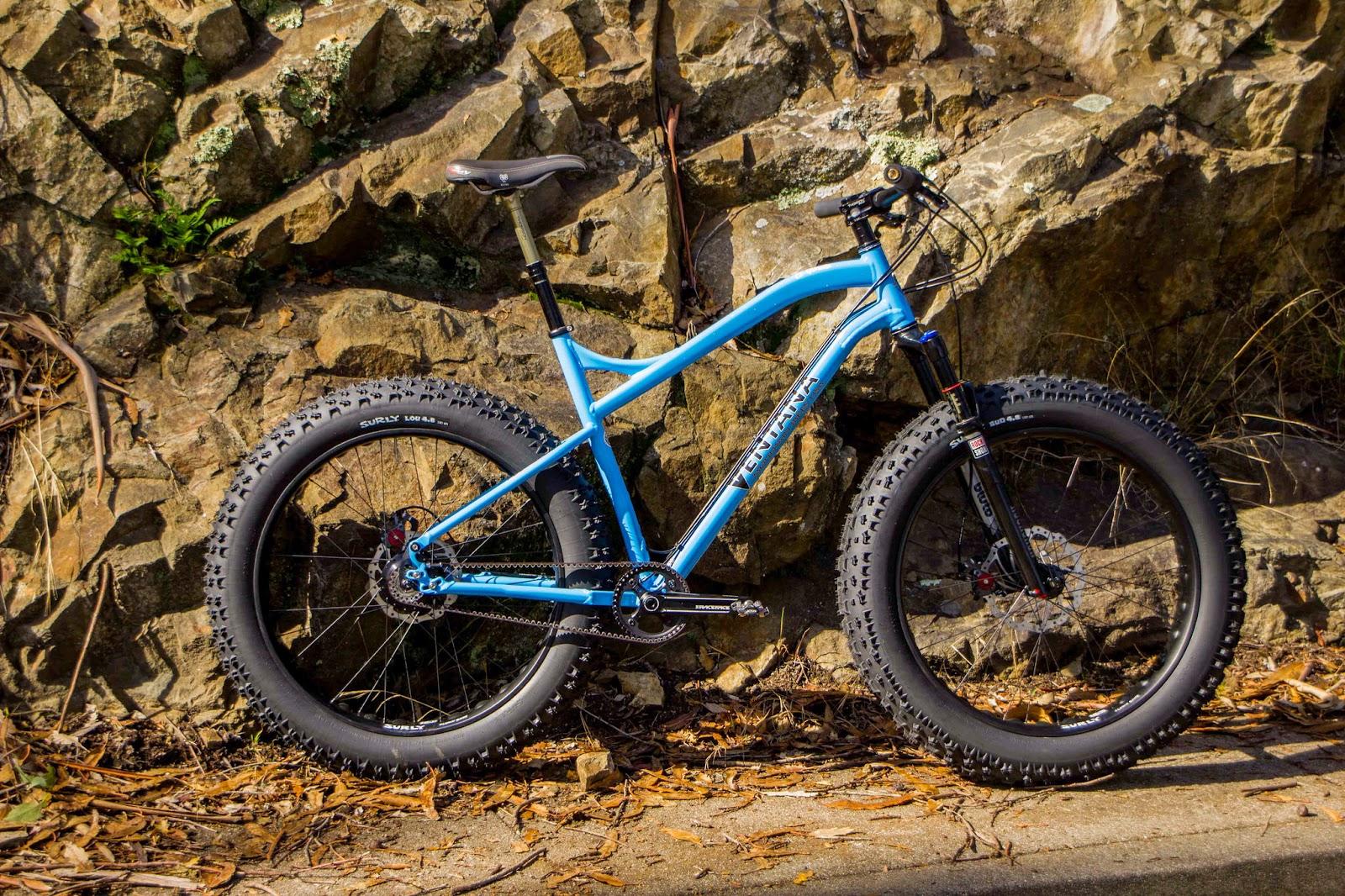 The Monkey Lab Ventana El Gordo Fat Bike With Rohloff