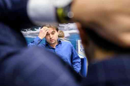 Samuel Shankland (2725) a annulé ronde 9 contre Magnus Carlsen (2835)