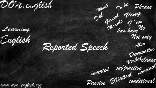 Contoh Soal dan Rumus Reported Speech (Indirect Speech)