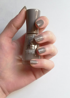 Taupe Modèle, So laque Glossy Bourjois swatch
