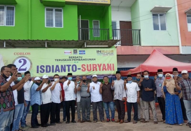 Jalin Silahturahmi, Isdianto Kunjungi Kantor Paguyuban Ikatan Keluarga Pasaman Kota Batam