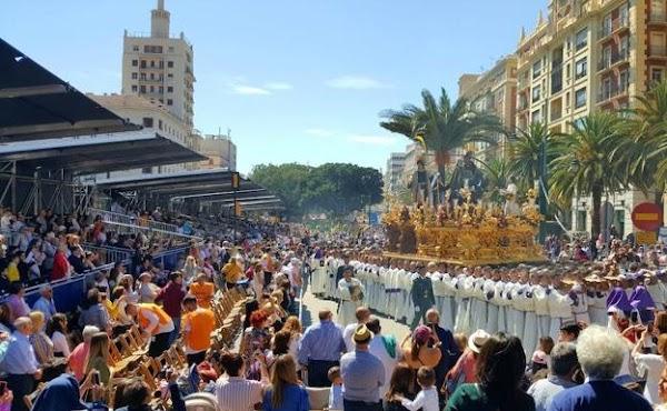 Las cofradías malagueñas reflexionan sobre una Semana Santa en andas y por un recorrido oficial más amplio