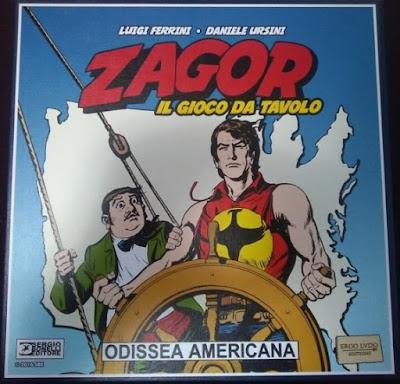 Zagor: odissea americana [due per tutti] giochi sul nostro tavolo