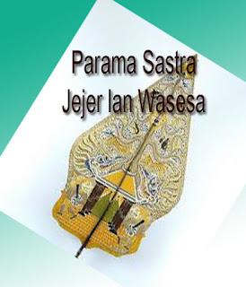Jejer lan Wasesa | Parama Sastra