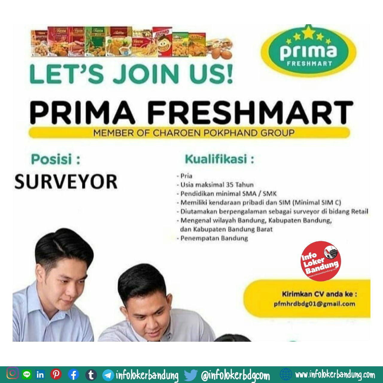 Lowongan Kerja Prima Freshmart Bandung April 2020