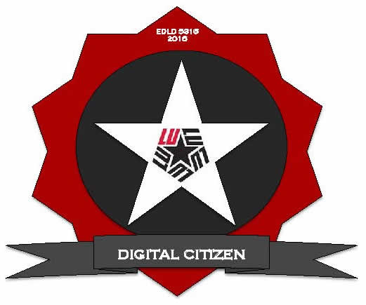 Digital Citizenship Badge