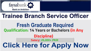 Faysal Bank Jobs 2019 Online Apply