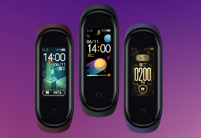 Latest Xiaomi Mi Band 4 Designs