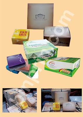 Cetak Box/Kotak Nasi, Snack, Kue Murah 24 Jam