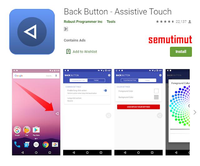 aplikasi pengganti tombol back home dan recent android