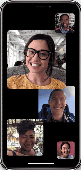 طريقة استخدام تطبيق فيس تايم FaceTime لعمل مكالمات فيديو جماعية