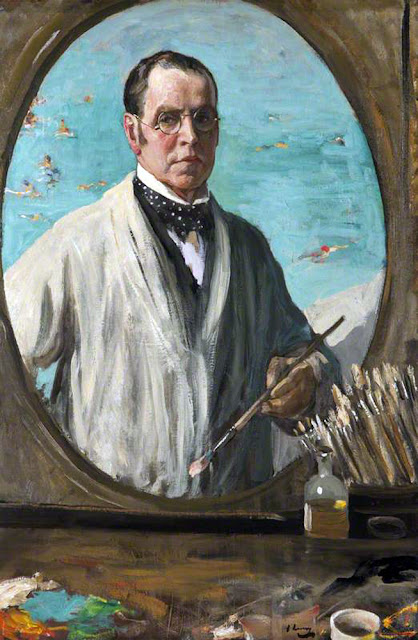 John Lavery, Self Portrait, Portraits of painters