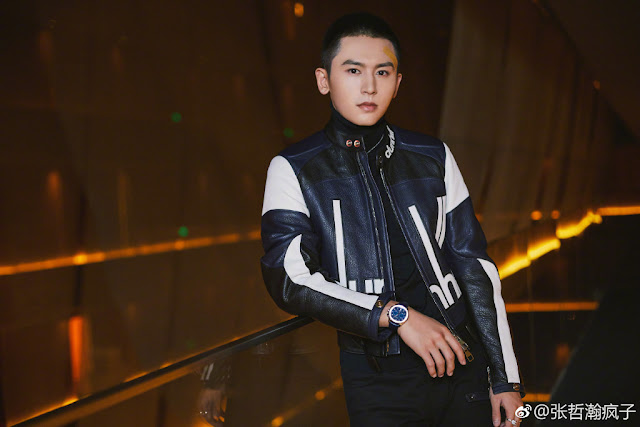 Zhang Zhehan ends contract with Huanyu Film Yu Zheng