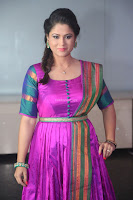Shilpa Chakravarthy in Purple tight Ethnic Dress ~  Exclusive Celebrities Galleries 055.JPG