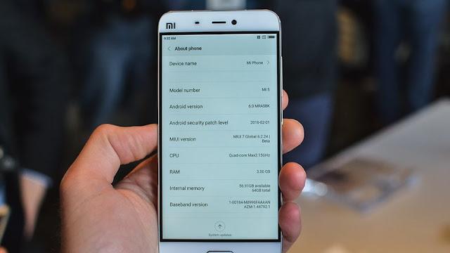 Perbedaan Xiaomi Mi5 Lawan Iphone 6s