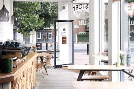 20 Desain Cafe Kekinian, Mungil & Bikin Betah