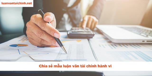 luận văn tài chính hành vi