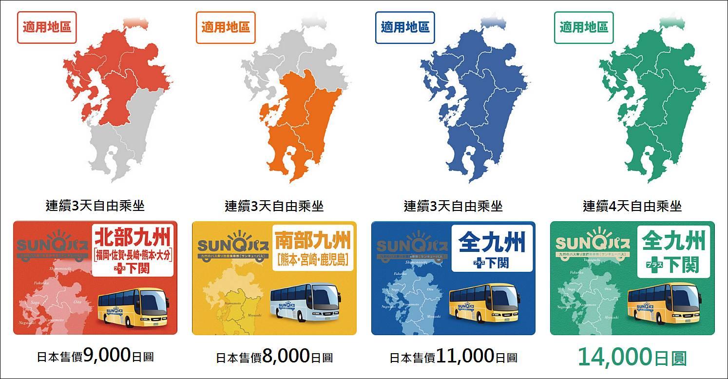 九州-福岡-交通-SUNQ PASS-福岡地鐵-西鐵電車-福岡巴士-福岡公車-福岡JR-介紹-福岡交通攻略-教學-福岡交通優惠券-乘車券-票價-路線-時刻-自由行