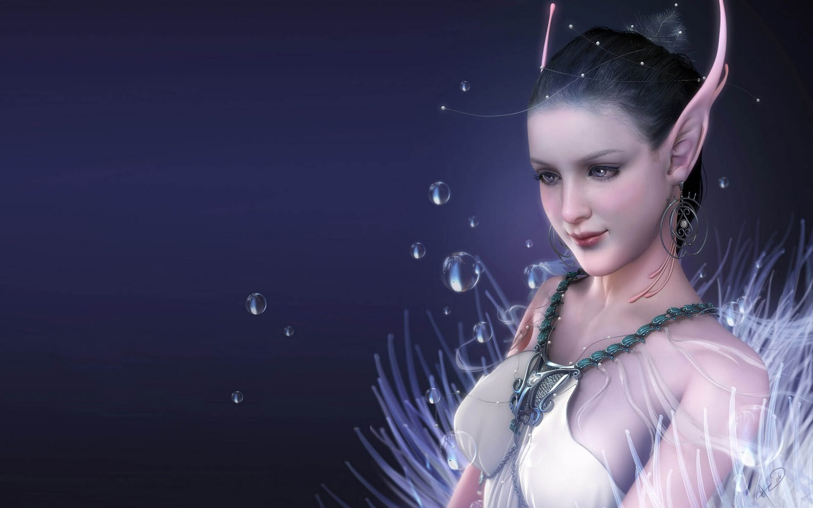 Exclusive HD wallpapers: Fantasy Mythical Girls 3D ...