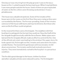 the house on fire essay house plan  a house on fire essay