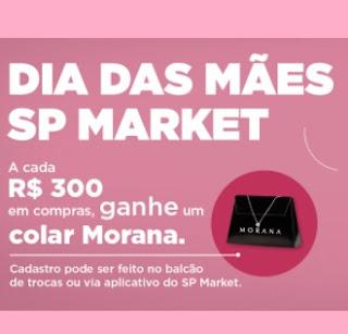 Promoção Dia das Mães SP Market Ganhe Colar Morana - Cadastro