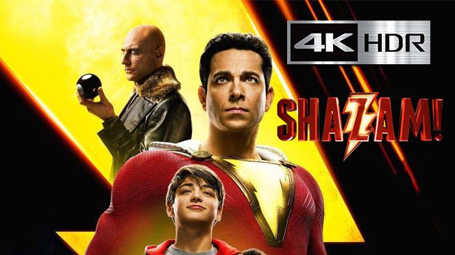 ¡Shazam! (2019) Web-DL 4K UHD [HDR] Latino-Ingles