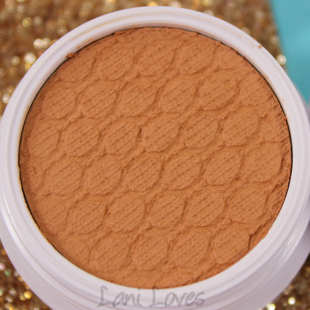 ColourPop Super Shock Shadow - I Spy Swatches & Review