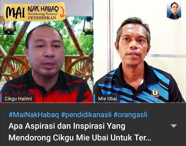Sampai Bina Pusat Akuatik Sendiri Untuk Orang Asli, Hebatnya Cikgu Mie Ubai!