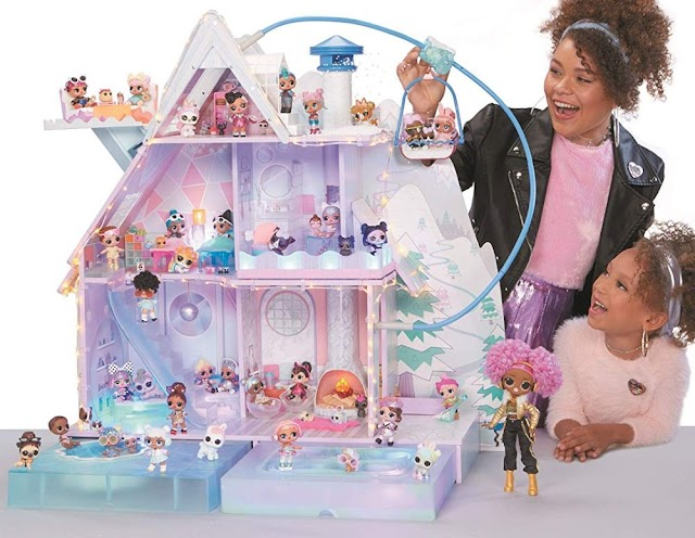Домик шале для кукол L.O.L. Surprise Winter Disco Chalet 95 сюрпризов