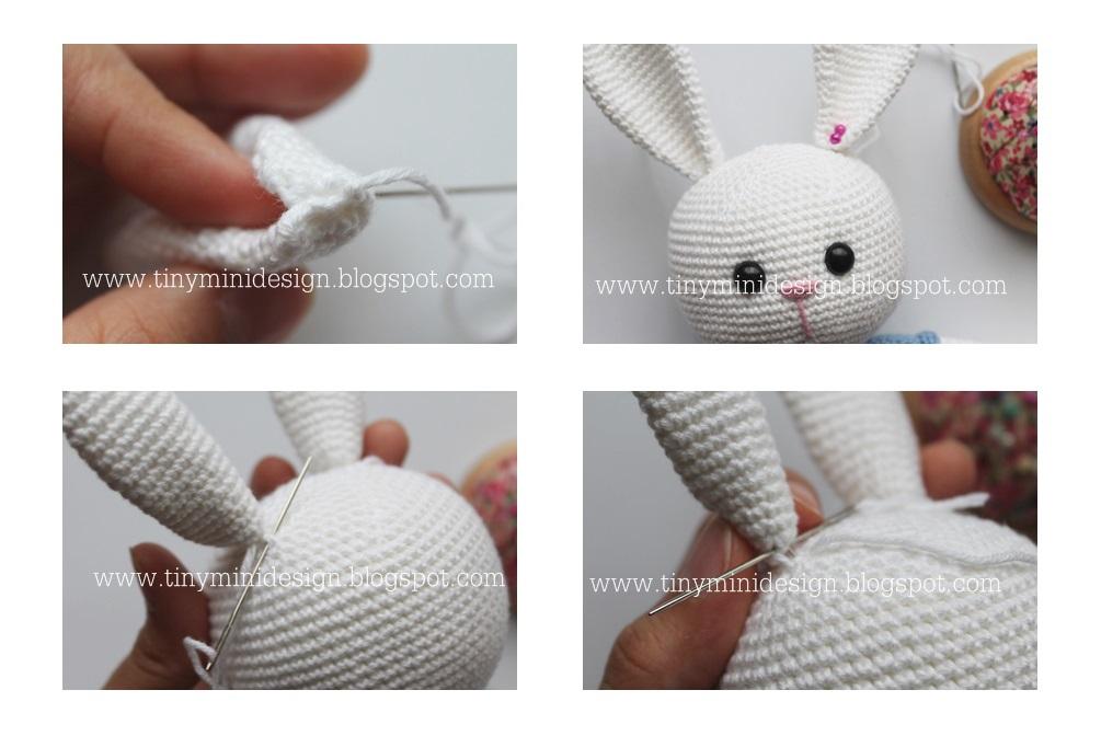 Amigurumi Bunny Ears : Bunny heart amigurumi pattern amigurumi today