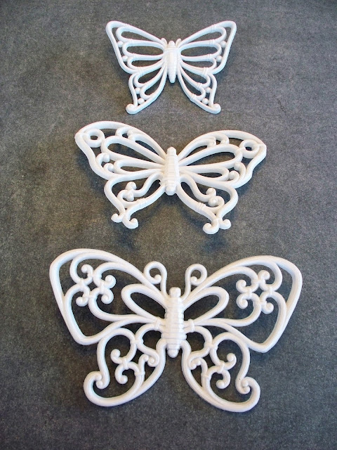 Spray Painted Butterflies