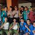 Keakraban Mahasiswa dan Polri Saat Berlangsung Demo di Banda Aceh