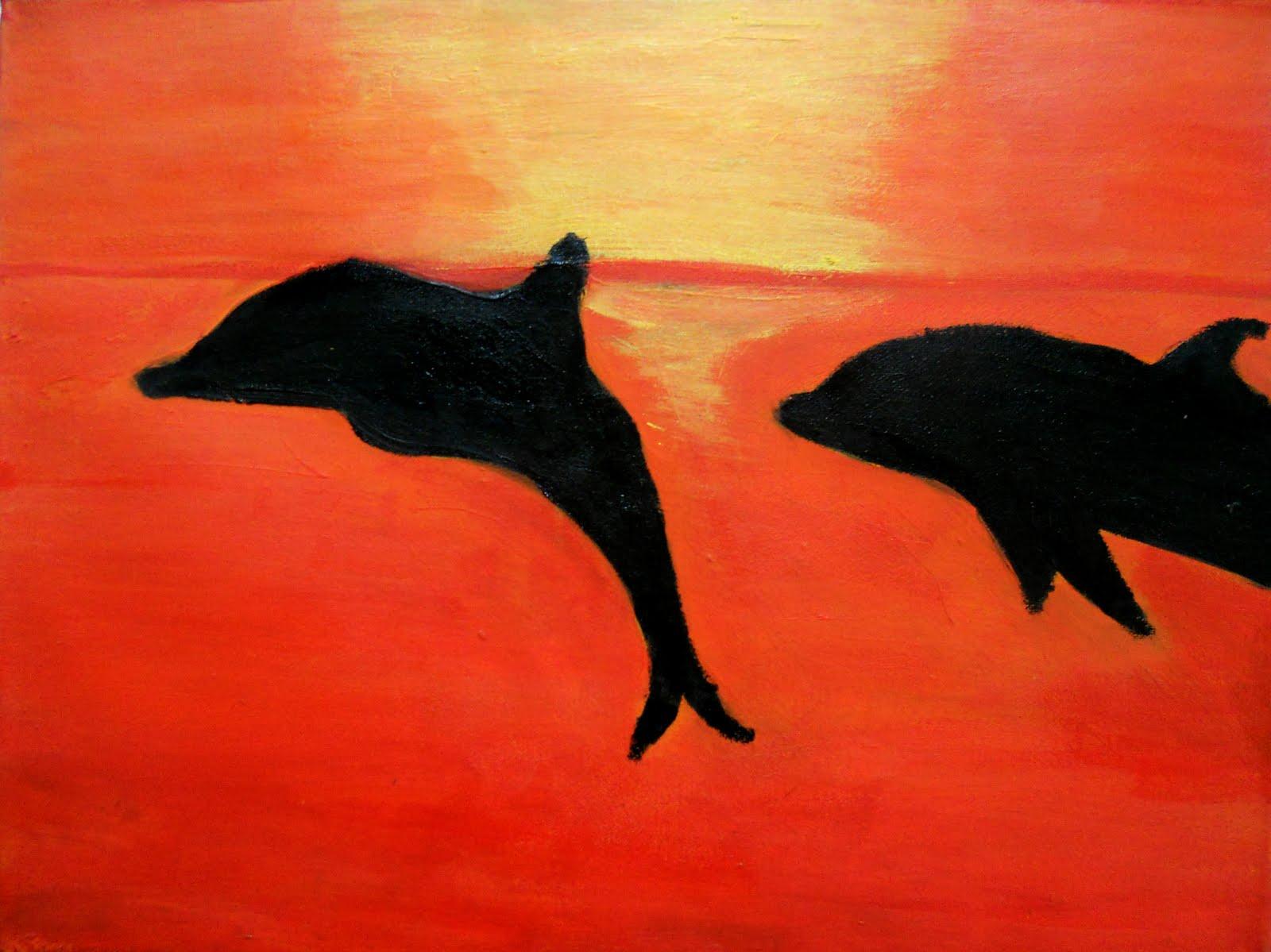 Dibujos Infantiles De Delfines A Color: Delfin Dibujo Infantil. Vera Qu. Delfin Dibujo Infantil