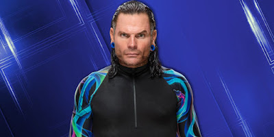 Jeff Hardy Backstage For Tonight's Smackdown