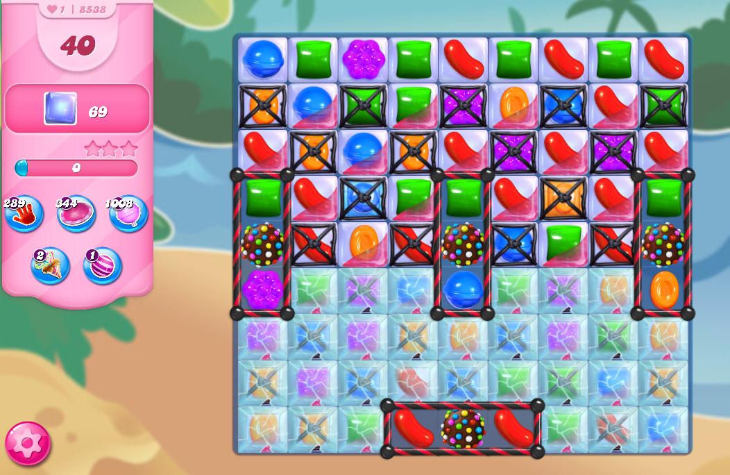 Candy Crush Saga level 8538