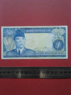 50 rupiah tahun 1960