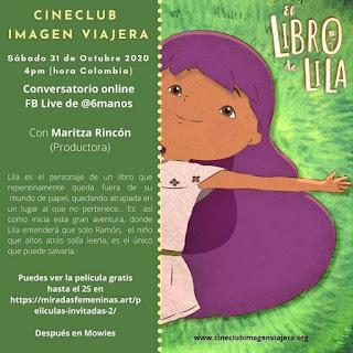 """""""El libro de Lila"""" Conversatorio con Maritza Rincon en Bogotá"""
