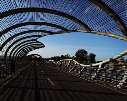 Jembatan Pantai Boom Banyuwangi