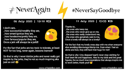 #NeverAgain vs. #NeverSayGoodbye