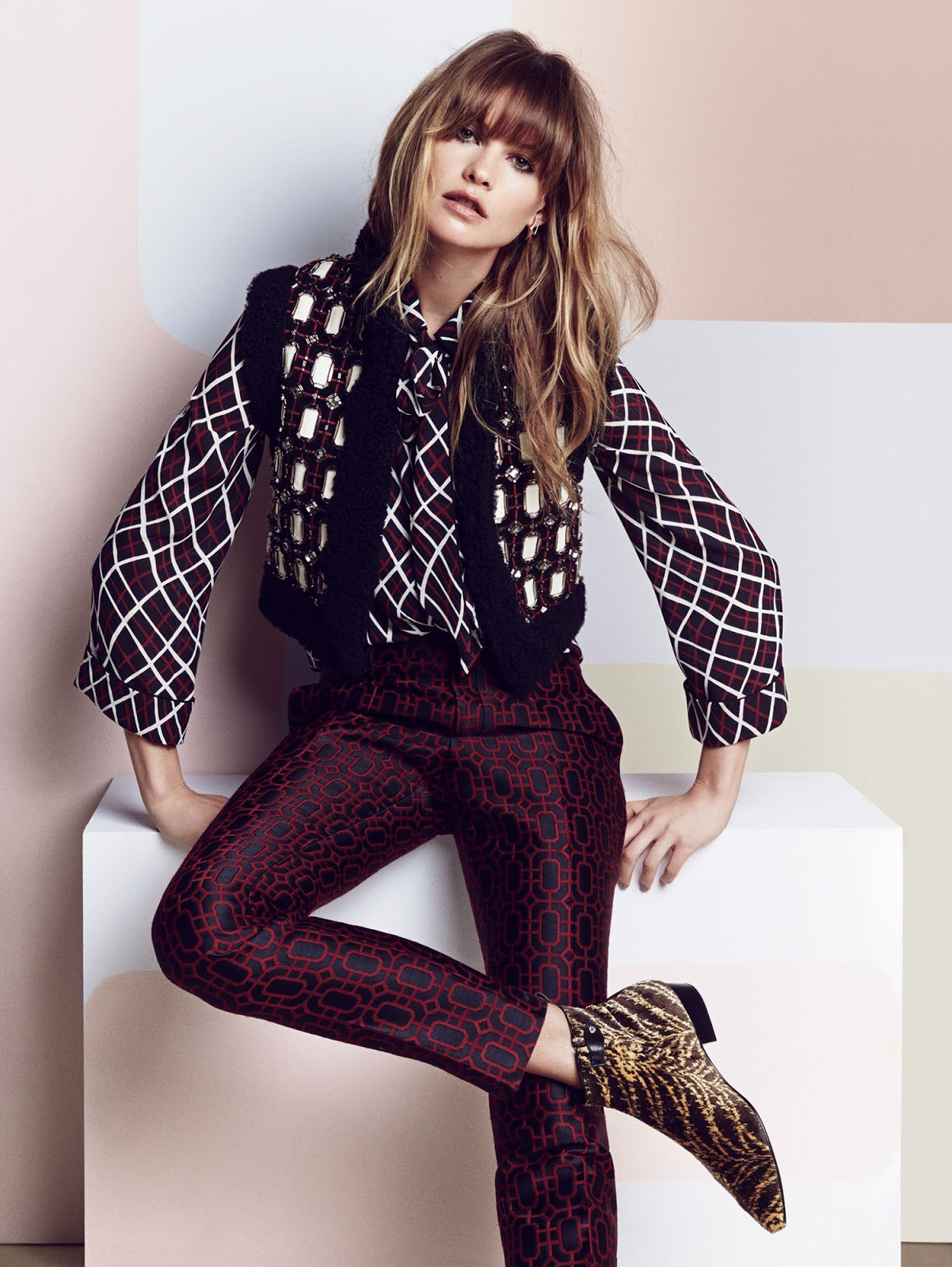 Behati Prinsloo Fronts Free People S June E Catalog: Duchess Dior: Behati Prinsloo By Patrick Demarchelier For